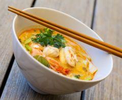Soupe thaï riche en protéine Dietimeal