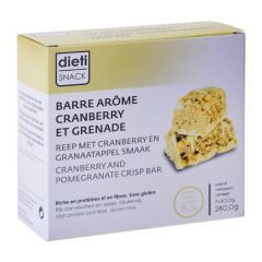 Chrono-Pack 7 barres croustillantes cranberry et grenade - Goûter chrono-nutrition