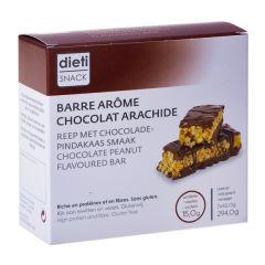 Barre chocolat peanut-arachide riche en protéines
