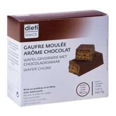 Chocobreak gaufre moulée au chocolat riche en protéines