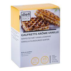 gaufrettes arôme vanille riche en protéines