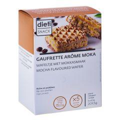 gaufrettes arôme café moka riche en protéines