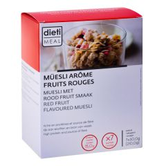 Müesli fruits aux rouges riche en protéines