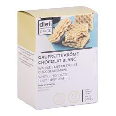 Gaufrette arôme chocolat blanc Dietisnack