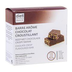 7 barres chocolat Crisp riches en protéines Dietisnack