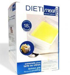 Dessert entremets protéiné goût tarte au citron