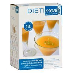 Entremets dessert abricot riche en protéines 7 sachets