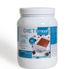 Dessert chocolat hyperprotéiné pot économique 450 g Dietimeal