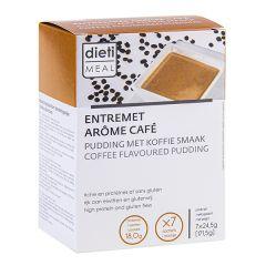 Dietimeal entremets dessert café 7 sachets