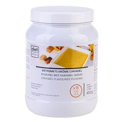 Dessert caramel hyperprotéiné en poudre à reconstituer pot 450 g économique Dietimeal