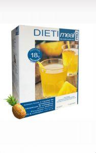 Dietimeal boisson hyperprotéinée arôme ananas - 7 sachets