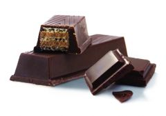 barre gaufrée chocolat