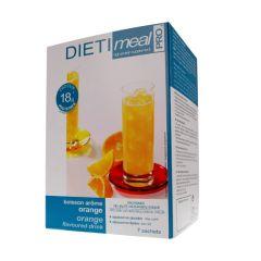 Dietimeal préparation en poudre pour boisson hyperprotéinée arôme orange - 7 sachets