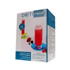 Dietimeal boisson hyperprotéinée arôme fruits rouges - Lactosérum et collagène - 7 sachets