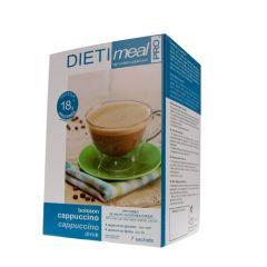 Dietimeal boisson hyperprotéinée saveur cappuccino - 7 sachets