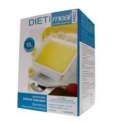 Dietimeal milk shake arôme banane riche en protéines - 7 sachets