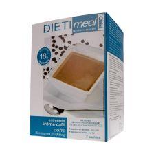 Entremets café Dietimeal 7 sachets riches en protéines