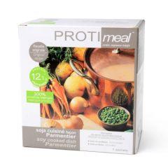 Soja cuisiné façon parmentier riche en protéine végétale - Protimeal 7 sachets