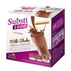 Milk-shake chocolat substitut de repas riche en protéine pour perdre du poids