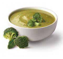 Velouté brocoli riche en protéines.