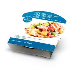 Wok de poulet protéiné sauce aigre-douce